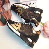 Louis Vuitton LV Fashion Woman Casual Shoes Sneakers I-ALS-XZ