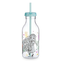 Disney Animators' Collection Drink Bottle with Straw - Frozen | Disney Store