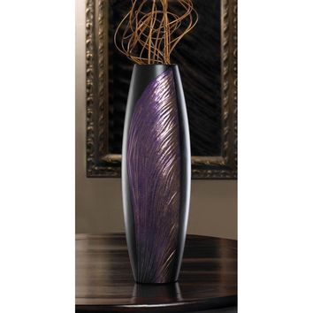 Modern Orchid Wing Decorative Vase