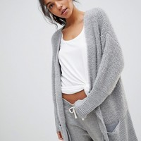 Micha Lounge Mix Knit Cardigan at asos.com