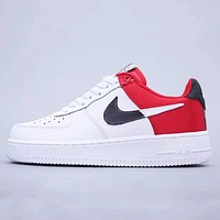 Nike Air Force 1 '07 NBA New fashion couple contrast color running shoes