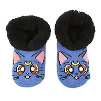 Sailor Moon Luna Cozy Slippers