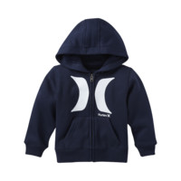 Hurley Icon Front Zip Toddler Boys' Hoodie