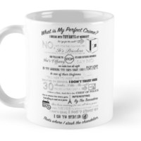 'The Office: Dwight's Perfect Crime' Mug by Wellshirt