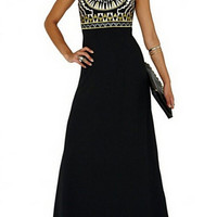 New 2015 Women Beach Long Ladies Tribal Embroidery Dresses Designer Elegant Fashion Party Sleeveless Maxi Dress-in Dresses from Women's Clothing & Accessories on Aliexpress.com | Alibaba Group