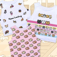 Pink Pokemon/Togepi/Jigglypuff Crop Tank Top inspired by Pokemon! 3 Styles Available.