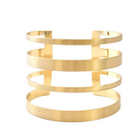 Charm Factor Bangle Bracelet in Gold