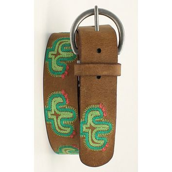 Ariat Embroidered Cactus Belt - Pre Order