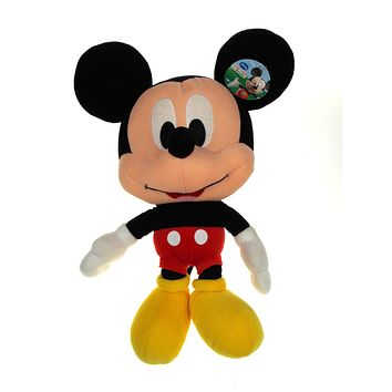 """Mickey Mouse Big Head 18"""" Plush Disney Clubhouse Stuffed Animal Doll Toy Large"""
