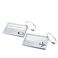 Luggage Tags in Stainless Iron