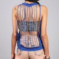 Confined Slasher Tank   Muscle Tops at Pink Ice