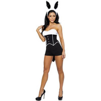 Roma Costume Womens Sexy Bunny Halloween Party Costume Set