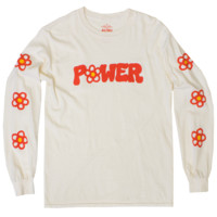 Altru Apparel Flower Power long sleeve tee