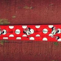 Disney Inspired Minnie Mouse Lanyard, Pin Trading Lanyard, ID holder, Accessories, Key Holder