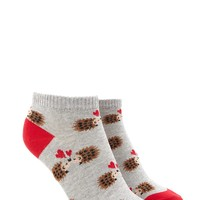 Kissing Porcupines Ankle Socks