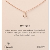 """Dogeared Wish Necklace, 18"""""""