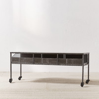Bowen Rolling Storage Bench | Urban Outfitters