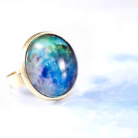 'Chaos at the Heart of Orion' Galaxy ring - Pop Sick Vintage