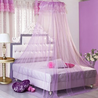 Round Lace Insect Bed Canopy Netting Curtain Dome Mosquito Net Outdoor = 1705654340