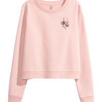 H&M Embroidered Sweatshirt $24.99