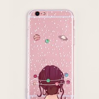 Figure Pattern iPhone Case
