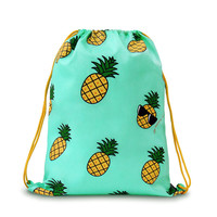 Bright Summer Pineapple Backpack