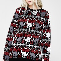 Very Superstitious Sweater