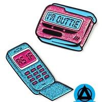 Clueless - Cell Phone & Beeper Pin Set