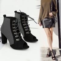 Not Rated Cecil Black Strappy Wedges