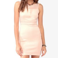 Metallic Dotted Bodycon Dress | FOREVER 21 - 2021840990