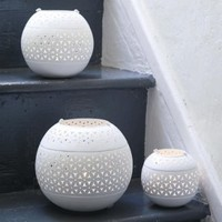 Iron Petal Tea-Light Lanterns| Spirit-Boutique.com Your hand picked collection for stylish living