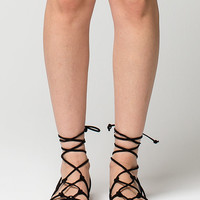 CITY CLASSIFIED Thin Knot Ghillie Womens Sandals | Sandals