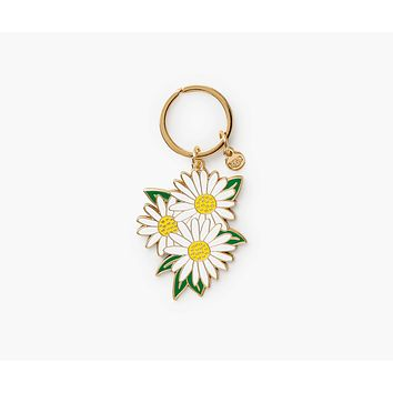Daisies Keychain by Rifle Paper Co.