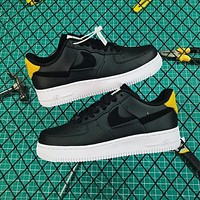 Nike Air Force 1 Af1 Low Lx Black Inside Out Fashion Shoes