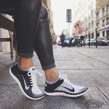 Not Just for the Gym: PARIS Edition! With Nike Flyknits and AF1 Lows