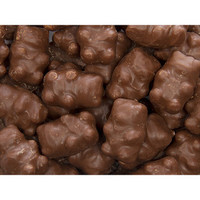 Chocolate Covered Giant Gummy Bears: 5LB Case