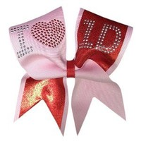 Chosen Bows I Love One Direction Cheer Bow