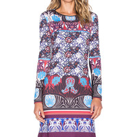 Clover Canyon Nouveau Sunset Dress in Multi