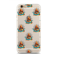 In Pizza We Trust  - Funny Case - Pizza Queen - Fancy Fonts - Slim & Transparent case for iPhone - by HeartOnMyFingers - SLIMCASE-304