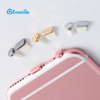 Tmalltide Metal Headphones Dust Plug Earphone Dustproof Plugs For iPhone 6 6S 7 Plus 5 5S for your Mobile Phone Accessories