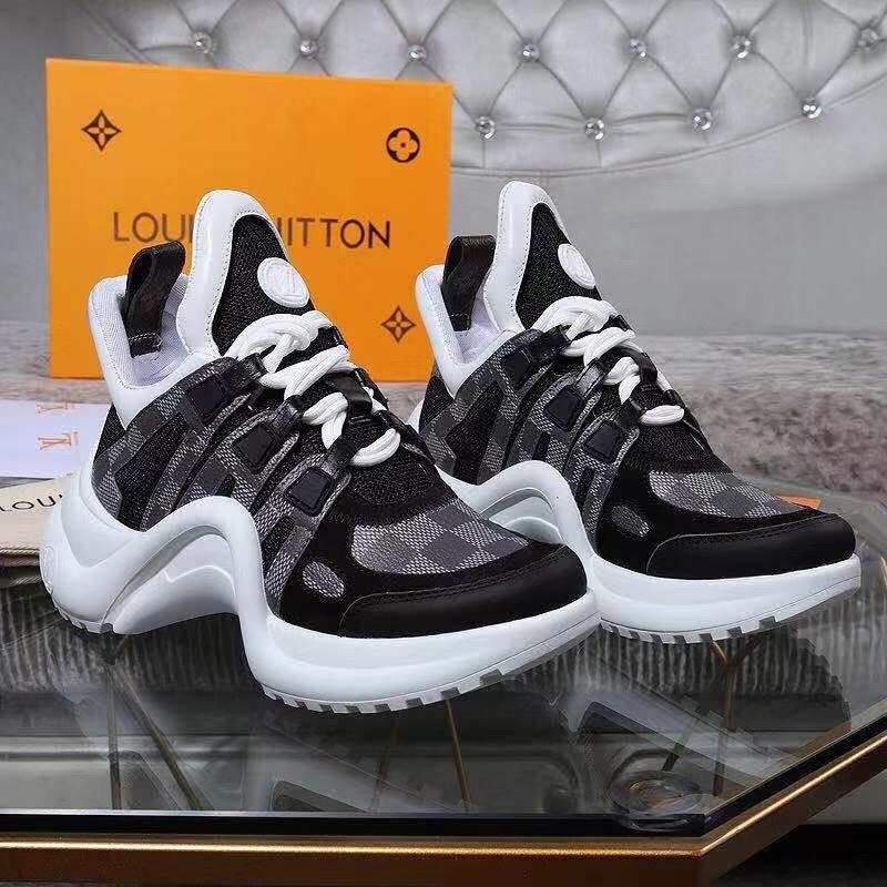 Image of LV Louis Vuitton Woman's Men's 2020 New Fashion Casual Shoes Sneaker Sport Running Shoes