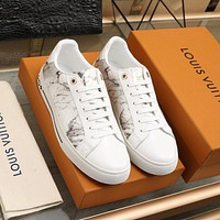 lv louis vuitton womans mens 2020 new fashion casual shoes sneaker sport running shoes 363
