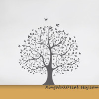 tree wall decals vinyl nature wall decor wall sticker for kids room x006