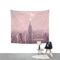 Society6 Stardust Covering New York Wall Tapestry