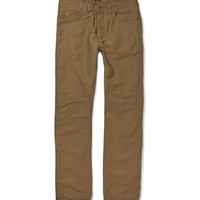 J.Crew - Bedford Flannel-Lined Corduroy Trousers   MR PORTER