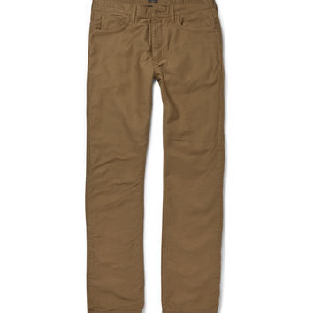 J.Crew - Bedford Flannel-Lined Corduroy Trousers | MR PORTER