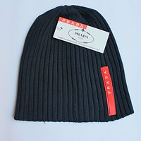 Perfect Prada Hiphop Women Men Beanies Winter Knit Hat Cap
