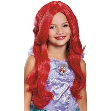 The Ariel Deluxe Wig for Girl's - The Little Mermaid