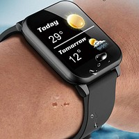 Smart Watch, Heart Rate Monitor, Bracelet Wristband, for iOS Android