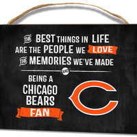 Chicago Bears Small Plaque - Best Things
